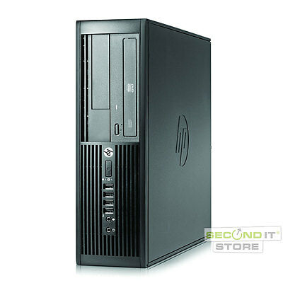 HP Compaq 8200 Elite SFF Quad Core i7 4x 3,4GHz 8GB RAM 500GB HDD 2x NVIDIA