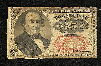 5th Issue 25 Cent Fractional Note - Good Condition