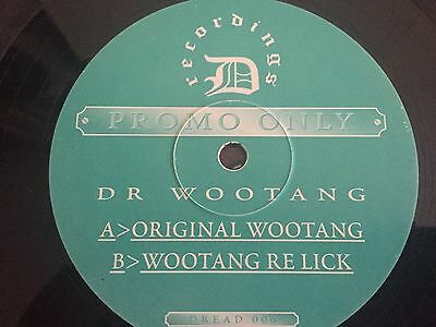 "12"" Vinyl Early Jungle Drum N Bass Dread Dr Woo tang The Original Lighter Tune"