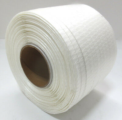 """Woven Polyester Cord Strapping Boat Shrink Wrap 1/2"""" x 1,500' - PD40TCW"""