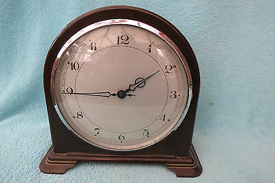 Vintage 1955 Er Smiths English Clocks Bakelite Clock For Repair
