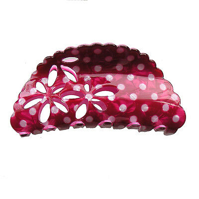 Large Flower Hair Jaw Claw Clips STS01701 Hair Accessory