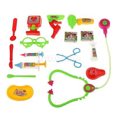 Kids Nurse Doctor Pretend Play Toy Medical Kit Playset Childrens Toy Gift #2