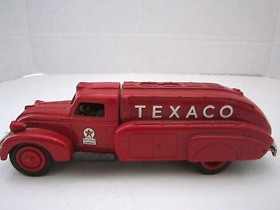 Vintage Red Texaco 1939 Dodge Airflow Die Cast Bank ERTL 1993 #10 in Series