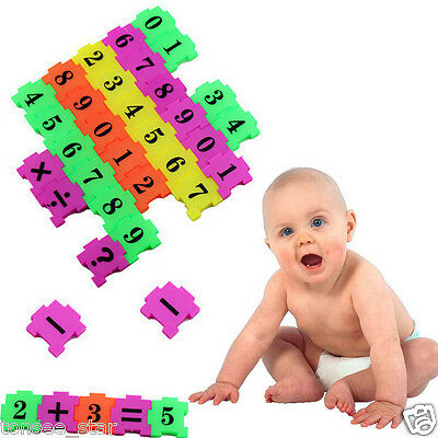 36Pcs Baby Child Number Symbol Puzzle Foam Maths Educational Boy Girl Toy Gift