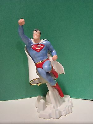 LENOX SUPERMAN sculpture NEW in BOX with COA