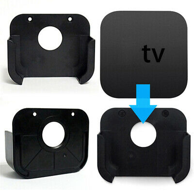 Apple TV 4 Gen Media Player Plastic Wall Mount Case Bracket Cradle Stand Holder