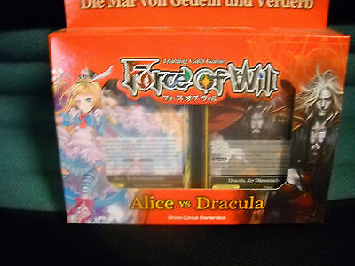 Force of Will Starter Deck Alice vs Dracula Grimm Zyklus