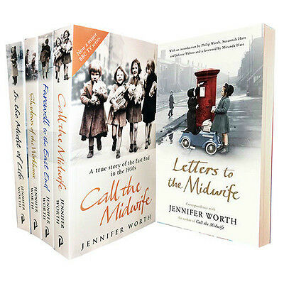 Jennifer Worth Collection (Call The Midwife,In the Midst of Life)5 Books Set NEW