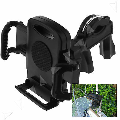 Motorcycle/Bicycle/Bike Handlebar Clip Mount Holder Stand For Mobile Phone