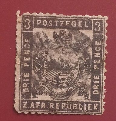 £££ South Africa - Réimpression / reprint stamp - type Fournier / Spiro - 2