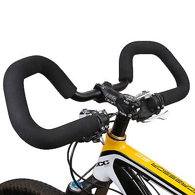 Cycling Road Mountain Bike Bicycle Contest Alloy Butterfly Bars Touring Trekking