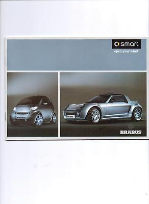 Smart Fortwo & Roadster (+ Accessories) Brabus Sales Brochure July 2004