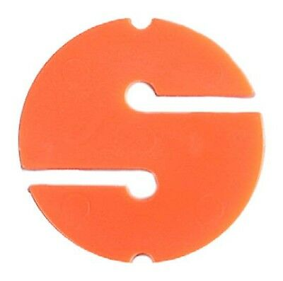 Tecnomar Direction Marker 6 Pcs Orange Line markers