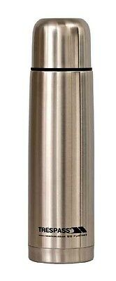 Trespass Thirst 75 X 750ml Stainless Steel Flask 0.75 Liters Silver Termos
