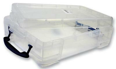 Universal Clear Storage Box with Lid, 11 Litre - 120 x 350 x 450mm