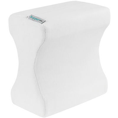 Supportec Memory Foam Orthopaedic Leg Pillow Back Hips & Knee Support Cushion