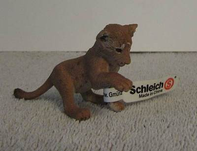 New Schleich Lion Cub Playing #14377