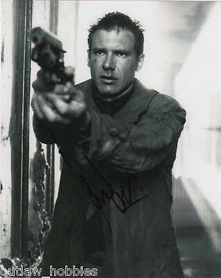Harrison Ford Blade Runner Autographed Signed 8x10 Photo COA K