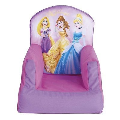 Disney Princess Cosy Chair Kids Bedroom Furniture New Girls