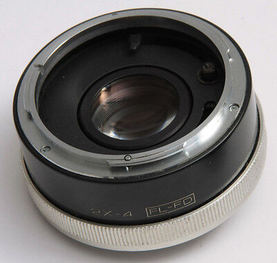 Vivitar 2x-4 Variable Auto Teleconverter For Canon FD FL Japan - USED D97B