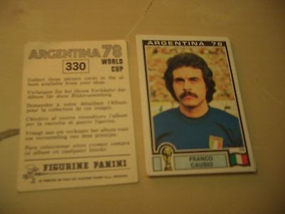 Images stickers Panini Football world cup coupe du monde Argentine 78