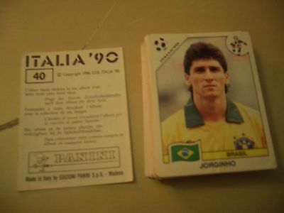 Images stickers Panini Football world cup coupe du monde Italia'90