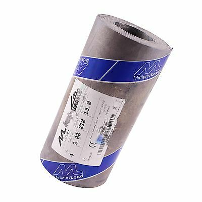"210mm 8"" inch Code 4 Lead Flashing Roll Roof Roofing Repair Midland Lead"