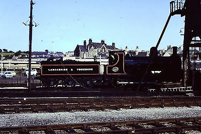 Railway Slide 35mm Lancashire & Yorkshire 1300 Carnforth Coaling Stage 1982