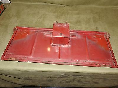 Willys Tailgate Wall Hanger Jeep Patina Vintage Rat Rod Old Man Cave Willy Bench