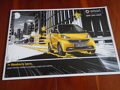 Smart Fortwo Edition Cityflame Coupe & Cabrio Dec 2012