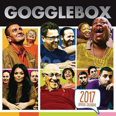 Gogglebox 2017 Official Square Calendar by Danilo