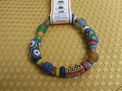 """African Jewelry FAIR TRADE """"SISTERS UNITED BRACELET"""" FROM GLOBAL MAMAS GHANA"""