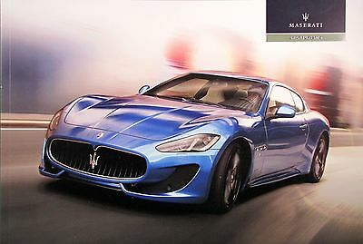 2015 Maserati GranTurismo Coupe new vehicle brochure