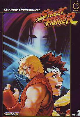 Street Fighter Volume 2 The New Challengers! trade paperback Udon