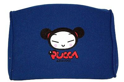 Anime Pucca Plush Doll Funny Love Car Cushion Pillow Rest Blue LICENSED US