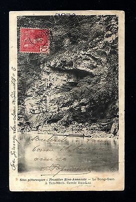 13888-INDOCHINA-MILITARY POSTCARD to NGUYEN-BINH.1909.INDOCHINE.French colonies.