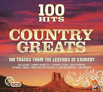 Various Artists-100 Hits - Country Greats  CD NEW