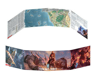 D&D 5th Ed Storm King's Thunder Dungeon Master's Screen DM Gale Force 9 GF973707