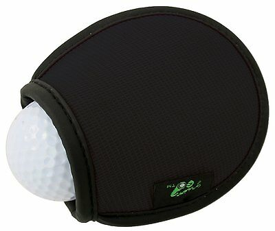 Brand New Green Go Pocket Golf Ball Washer - Black