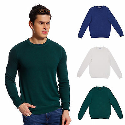 Copperside Mens 100% Cotton Crew Neck Sweater