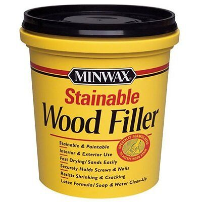 Minwax 42853 Stainable Wood Filler 16-Ounce Drying New