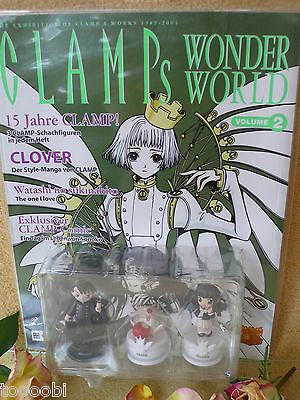 CLAMP ノキセキ Clamp´s Wonderworld Volume 2 + Chess - Manga & Anime Egmont - sealed
