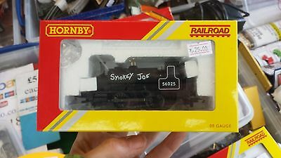 OO Model Railway Hornby R3064 BR Black 0-4-0 ST Steam Loco Smokey Joe boxed GWO
