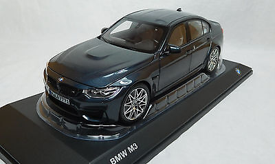 Modelcar Scale 1/18 BMW M3 Competition grey metalic Norev NEW