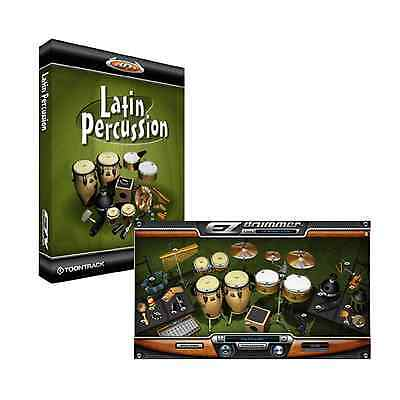 Toontrack Latin Percussion - EZdrummer 2 Expansion (Serial Download)