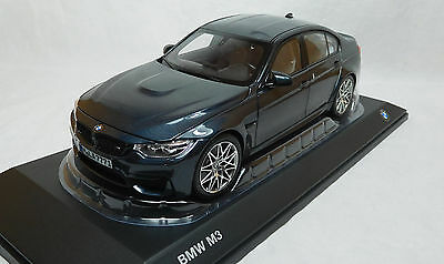 Modelcar scale 1:18 BMW M3 Competition grey metalic  NEW DEaler
