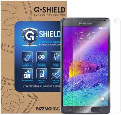 Genuine G-Shield® Tempered Glass Film Screen Protector For Samsung Galaxy Note 4