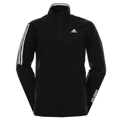 """Adidas Golf GORE-TEX TWO LAYER WATERPROOF 1/2 ZIP JACKET STRETCH TOP """"New 2017"""""""