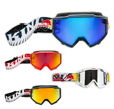 Kini Red Bull Revolution Crossbrille Enduro Motocross MX Brille verspiegelt